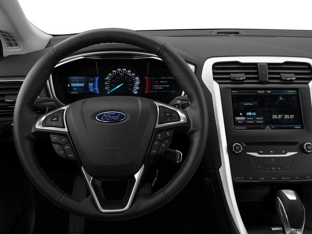 2016 Ford Fusion Pictures Fusion Sedan 4D SE EcoBoost 2.0L I4 photos driver's dashboard