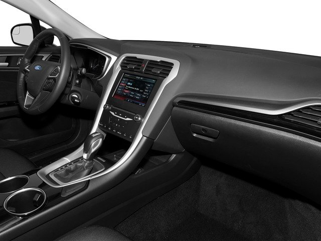 2016 Ford Fusion Prices and Values Sedan 4D SE I4 passenger's dashboard
