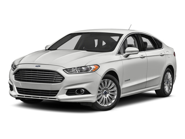 2016 Ford Fusion Prices and Values Sedan 4D Titanium I4 Hybrid side front view