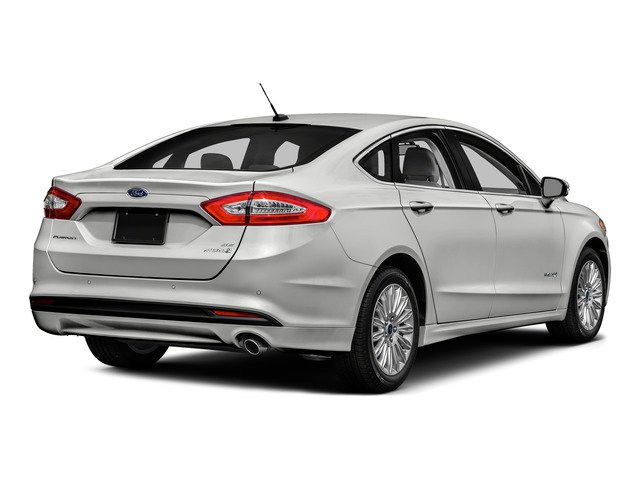2016 Ford Fusion Prices and Values Sedan 4D Titanium I4 Hybrid side rear view
