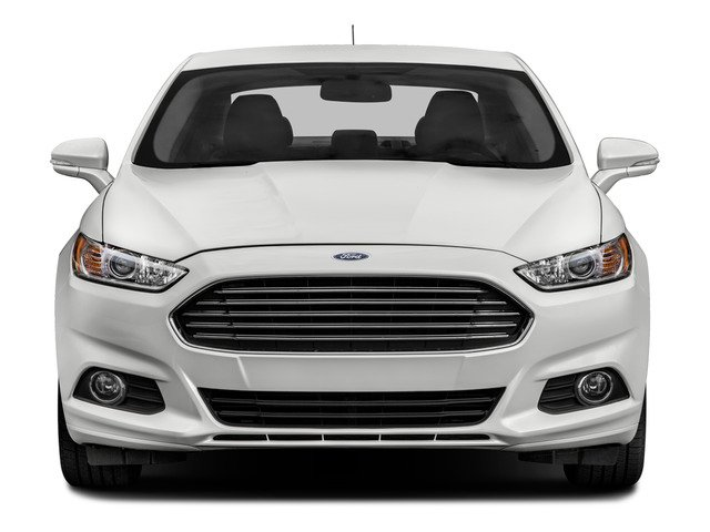 2016 Ford Fusion Prices and Values Sedan 4D Titanium I4 Hybrid front view