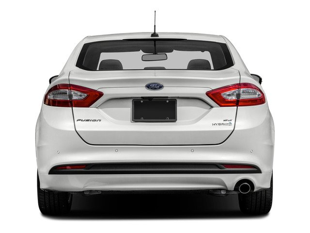 2016 Ford Fusion Prices and Values Sedan 4D Titanium I4 Hybrid rear view