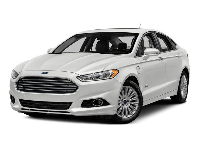 2016 Ford Fusion Energi Pictures Fusion Energi Sedan 4D SE Energi I4 Hybrid photos side front view