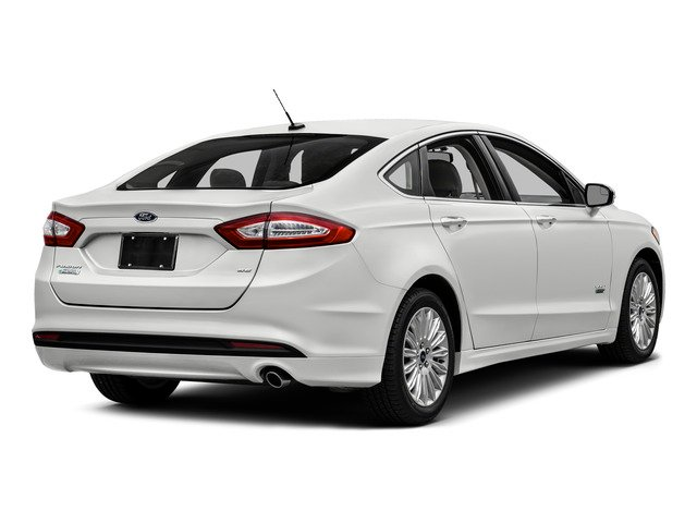 2016 Ford Fusion Energi Prices And Values Sedan 4d Anium I4 Hybrid Side Rear View