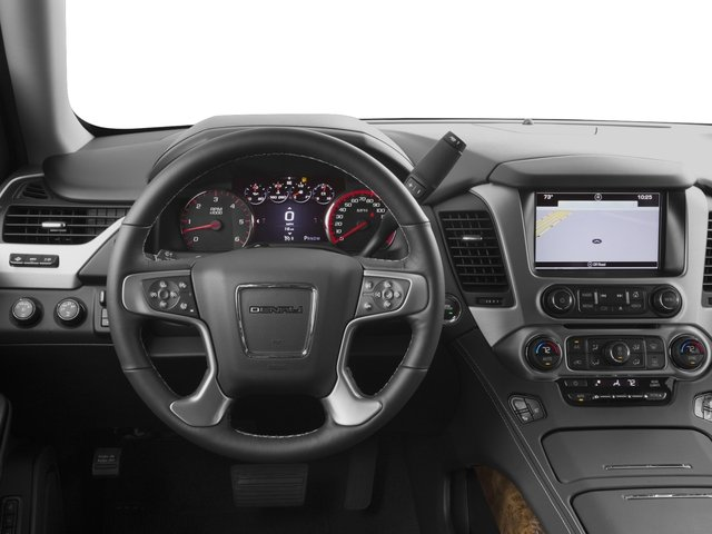 2016 GMC Yukon Prices and Values Utility 4D Denali 4WD V8 driver's dashboard