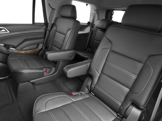 2016 GMC Yukon Prices and Values Utility 4D Denali 4WD V8 backseat interior