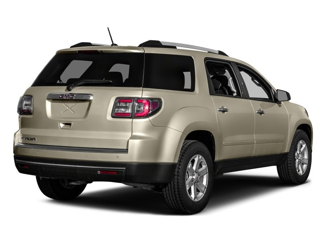 2016 GMC Acadia Prices and Values Utility 4D SL 2WD V6 side rear view