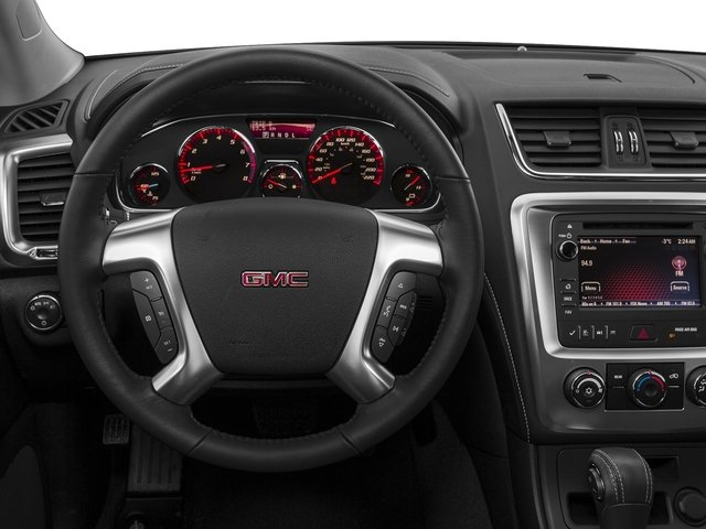 2016 GMC Acadia Prices and Values Utility 4D SL 2WD V6 driver's dashboard