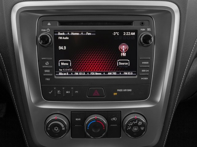 2016 GMC Acadia Prices and Values Utility 4D SL 2WD V6 stereo system