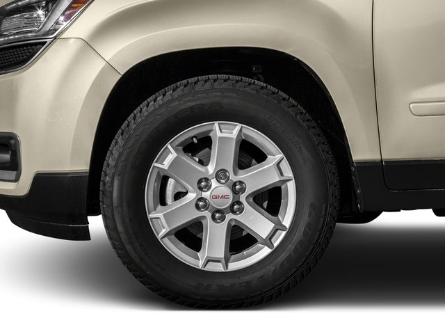 2016 GMC Acadia Prices and Values Utility 4D SL 2WD V6 wheel