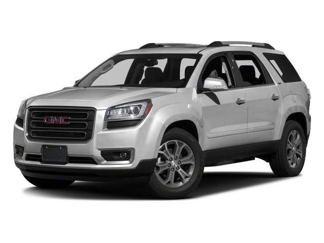 2016 GMC Acadia Prices and Values Utility 4D SLT2 2WD V6 side front view