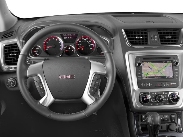 2016 GMC Acadia Prices and Values Utility 4D SLT2 2WD V6 driver's dashboard