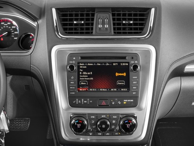2016 GMC Acadia Prices and Values Utility 4D SLT2 2WD V6 stereo system