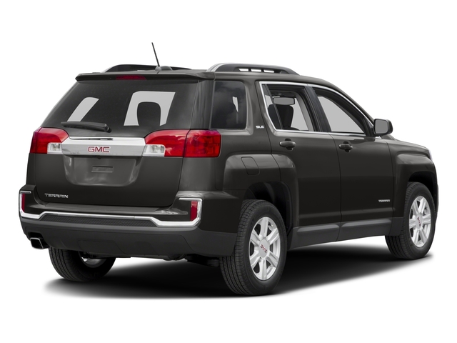 2016 GMC Terrain Prices and Values Utility 4D SL 2WD side rear view