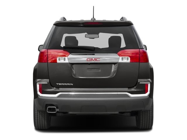 2016 GMC Terrain Prices and Values Utility 4D SL 2WD rear view