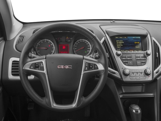 2016 GMC Terrain Prices and Values Utility 4D SL 2WD driver's dashboard