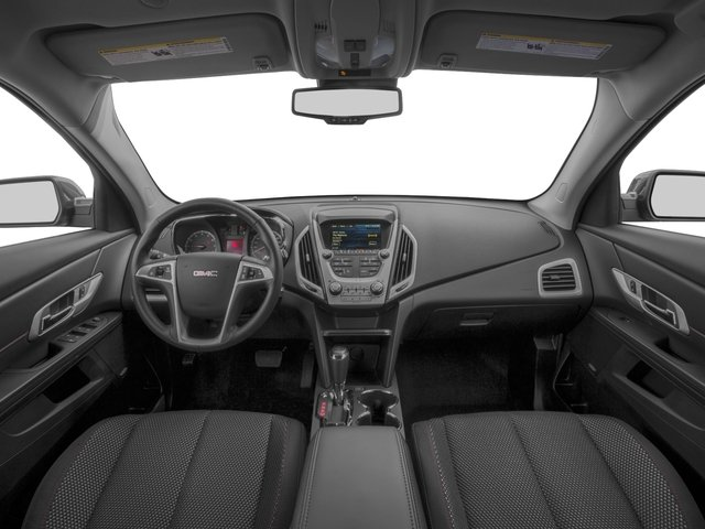 2016 GMC Terrain Prices and Values Utility 4D SL 2WD full dashboard