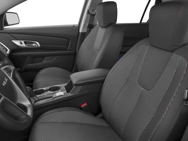 2016 GMC Terrain Prices and Values Utility 4D SL 2WD front seat interior