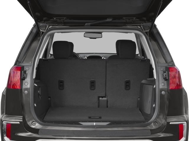 2016 GMC Terrain Prices and Values Utility 4D SL 2WD open trunk