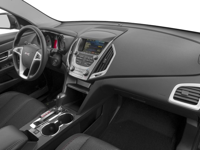 2016 GMC Terrain Prices and Values Utility 4D SL 2WD passenger's dashboard