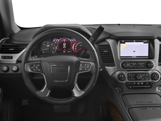 2016 GMC Yukon XL Prices and Values Utility 4D Denali 2WD V8 driver's dashboard