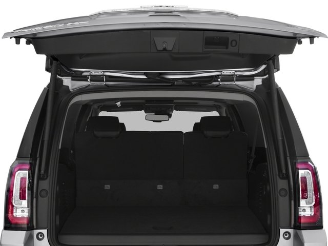 2016 GMC Yukon XL Prices and Values Utility 4D Denali 2WD V8 open trunk
