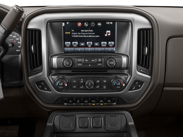 2016 GMC Sierra 1500 Pictures Sierra 1500 Crew Cab Denali 2WD photos stereo system