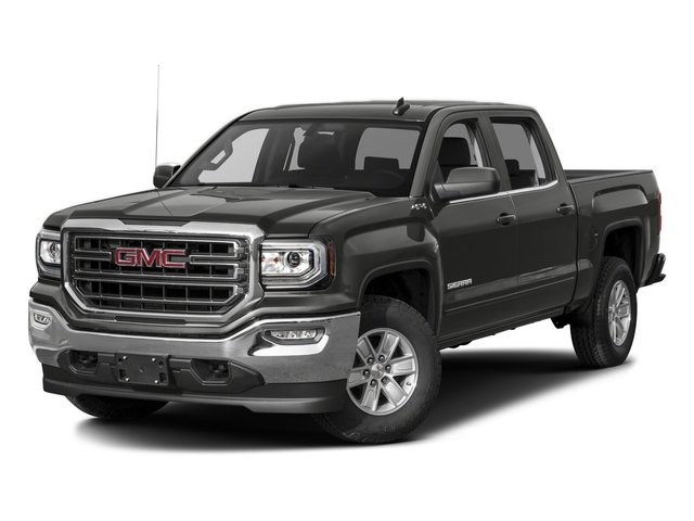2016 GMC Sierra 1500 Pictures Sierra 1500 Crew Cab SLE 2WD photos side front view