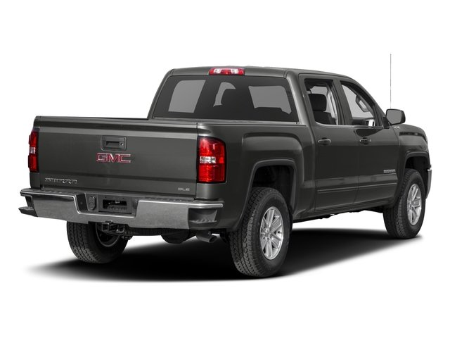 2016 GMC Sierra 1500 Prices and Values Crew Cab SLE 4WD side rear view