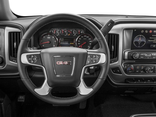 2016 GMC Sierra 1500 Prices and Values Crew Cab SLE 4WD driver's dashboard