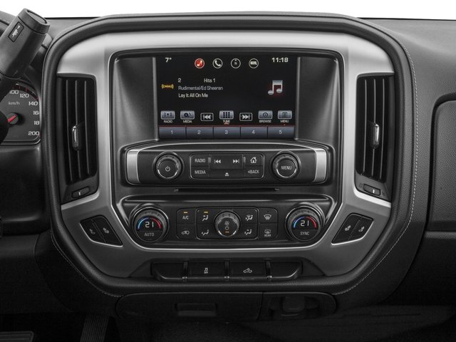 2016 GMC Sierra 1500 Prices and Values Crew Cab SLE 4WD stereo system