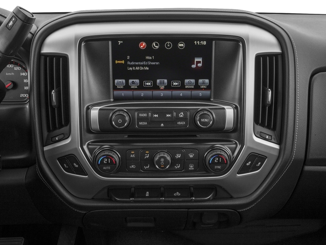 2016 GMC Sierra 1500 Pictures Sierra 1500 Crew Cab SLE 2WD photos stereo system