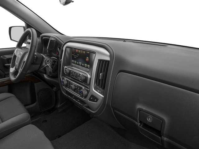 2016 GMC Sierra 1500 Prices and Values Crew Cab SLE 4WD passenger's dashboard