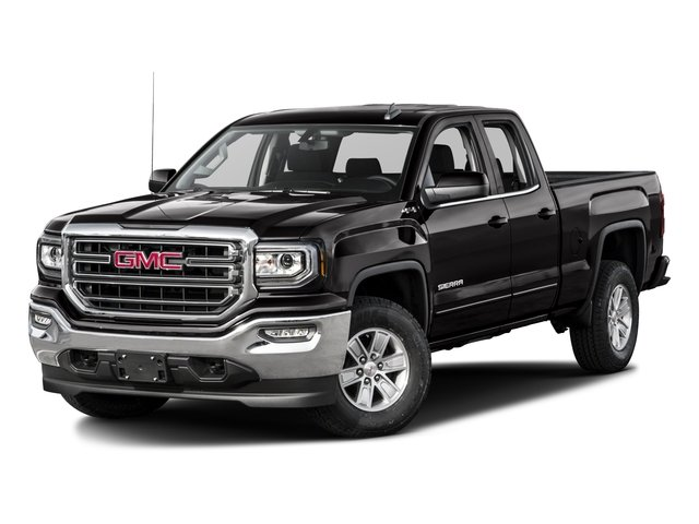 2016 GMC Sierra 1500 Pictures Sierra 1500 Extended Cab SLE 4WD photos side front view