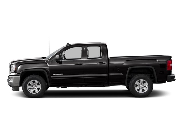2016 GMC Sierra 1500 Pictures Sierra 1500 Extended Cab SLE 4WD photos side view