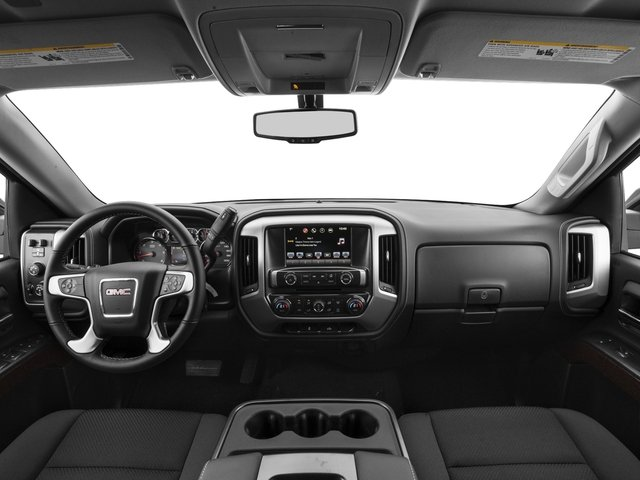 2016 GMC Sierra 1500 Pictures Sierra 1500 Extended Cab SLE 4WD photos full dashboard