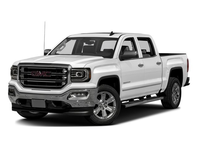2016 GMC Sierra 1500 Prices and Values Crew Cab SLT 4WD side front view