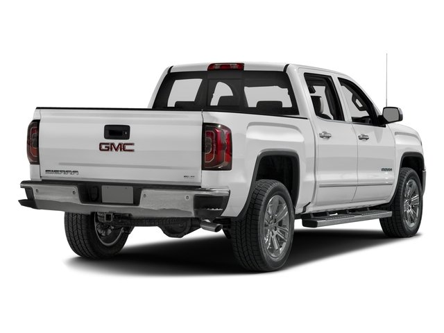 2016 GMC Sierra 1500 Prices and Values Crew Cab SLT 4WD side rear view