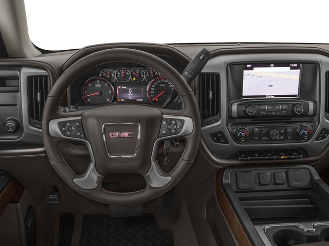 2016 GMC Sierra 1500 Prices and Values Crew Cab SLT 4WD driver's dashboard