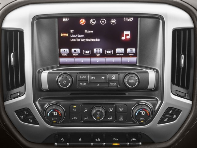 2016 GMC Sierra 1500 Prices and Values Crew Cab SLT 4WD stereo system