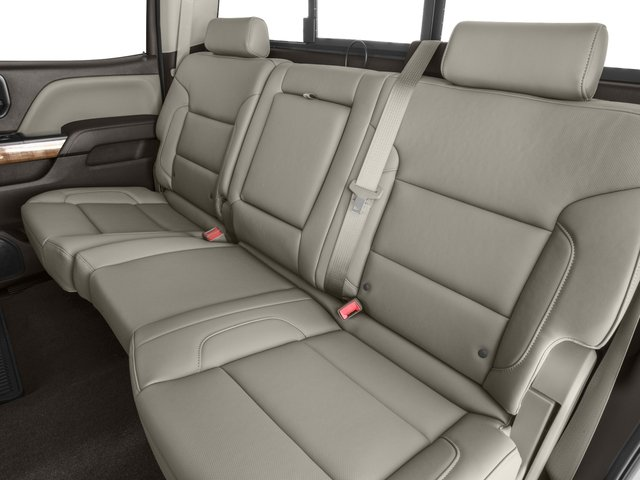 2016 GMC Sierra 1500 Prices and Values Crew Cab SLT 4WD backseat interior