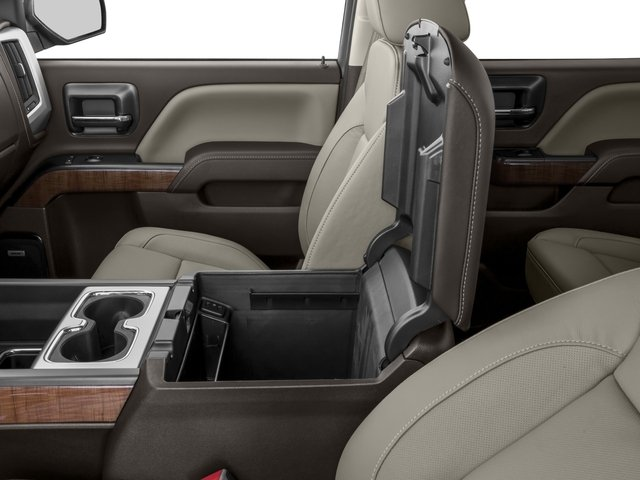 2016 GMC Sierra 1500 Prices and Values Crew Cab SLT 4WD center storage console