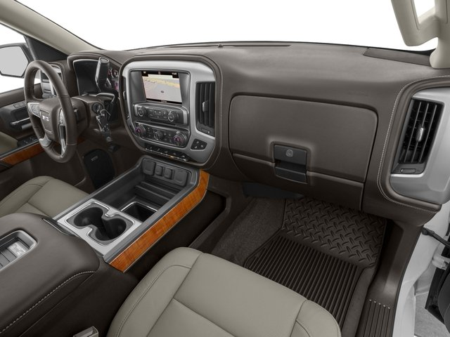 2016 GMC Sierra 1500 Prices and Values Crew Cab SLT 4WD passenger's dashboard