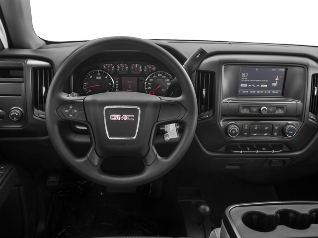 2016 GMC Sierra 1500 Prices and Values Extended Cab 2WD driver's dashboard