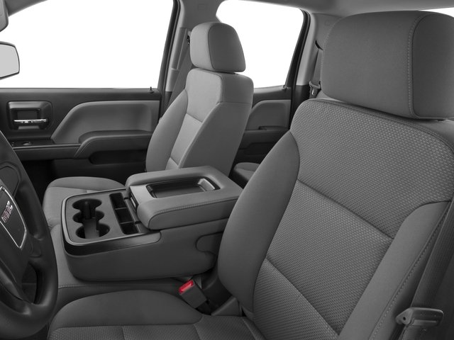 2016 GMC Sierra 1500 Prices and Values Extended Cab 2WD front seat interior