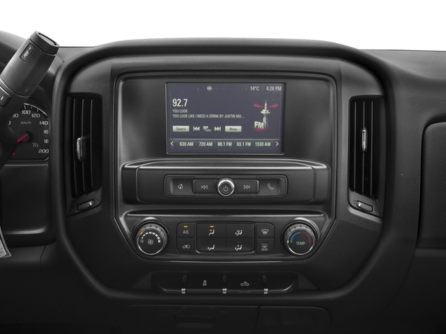 2016 GMC Sierra 1500 Prices and Values Extended Cab 2WD stereo system