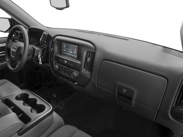 2016 GMC Sierra 1500 Prices and Values Extended Cab 2WD passenger's dashboard