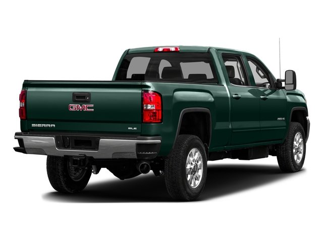 2016 GMC Sierra 3500HD Pictures Sierra 3500HD Crew Cab 2WD photos side rear view