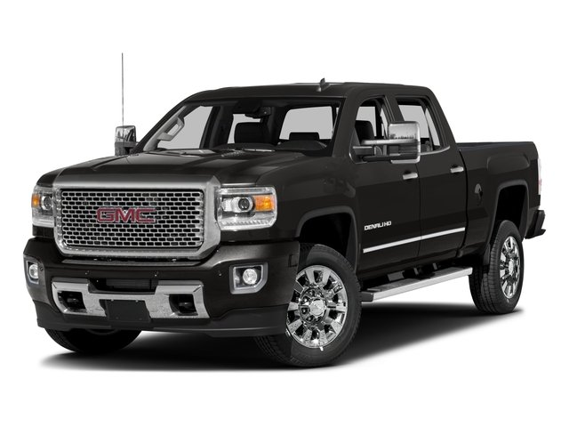 2016 GMC Sierra 2500HD Pictures Sierra 2500HD Crew Cab Denali 2WD photos side front view
