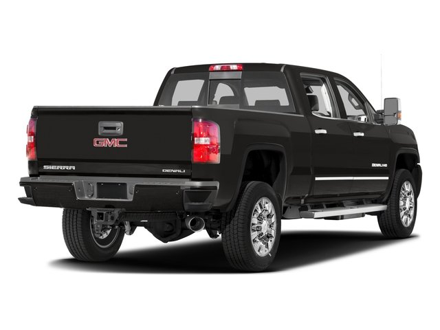 2016 GMC Sierra 2500HD Prices and Values Crew Cab Denali 2WD side rear view